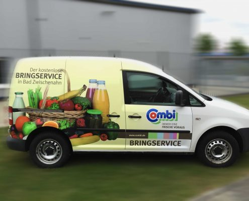 Wrapping, Car Wrapping, Caddy, Print, 3D Wrappingfilm, Film