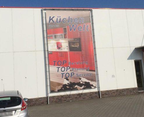Werbesystem, Rohrrahmen